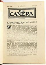 The Camera Various Issues of the Magazine Bound 1911-1916