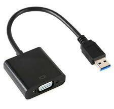 USB 3.0 to VGA Video Graphic Multi Display Cable Adapter Card For WIN 8/10 UK