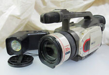 Canon XM1 DM-XM1E 3CCD Digital Video Camcorder with VL-10Li Video Light