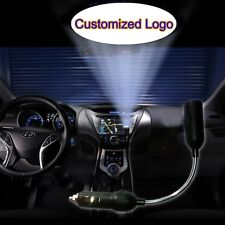 Customized Logo Car Inner Cigarette Projector Shadow Atmosphere CREE LED Light