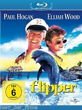 FLIPPER (Paul Hogan, Elijah Wood) Blu-ray Disc NEU+OVP