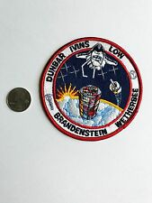 Sunrise & Earth Dunbar Ivins Low Brandenstein Space Exploration NASA Patch