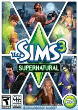 The Sims 3 Supernatural - Expansion Pack (PC/MAC GAMES) - FREE SHIPPING