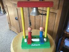 vintage Playskool Bell Ringer in Poor Condition.