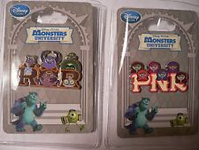 MU~RoR FrAtErNiTy+PnK Sorority~PiNs~WEEK #1-Monsters University~NWT~Disney Store