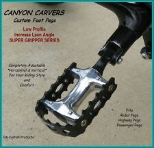 CANYON CARVER  FOOT PEGS FLOORBOARD HARLEY DAVIDSON