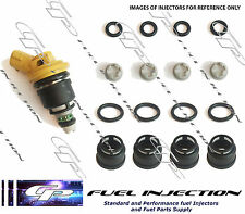 SUBARU WRX STI Yellow JECS SIDE FEED Fuel Injector service/repair Kit CP-YEC4