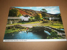 WATENDLATH HAMLET BORROWDALE THE LAKE DISTRICT ~ COLOUR POSTCARD POSTED 1991