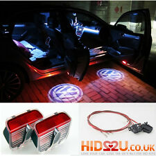 2x VW CREE LED CAR DOOR COURTESY LASER PROJECTOR LOGO GHOST SHADOW LIGHT