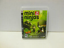 Mini Ninjas PS3 Original Case, Artwork, & Manual - NO GAME DISC