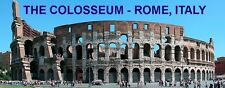 PANORAMA FRIDGE MAGNET of THE COLOSSEUM ROME ITALY