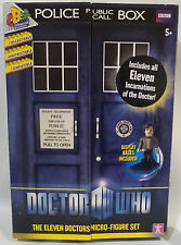 DOCTOR WHO : THE ELEVENTH DOCTORS MICRO-FIGURE SET BY CHARACTER OPTIONS (TK)
