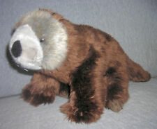 K&M   BEAR  or BEAVER ??  or OTTER ?   SIZE: 12 INCH LONG + TAIL    LONG TAIL