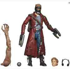 Star Lord-Guardians of the Galaxy Marvel Legends Infinite w/BAF Groot Arm Hasbro