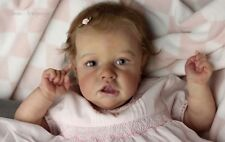 SASKIA TIME LIMITED EDITION Reborn BABY Doll  by BONNIE BROWN  JNR CUSTOMS
