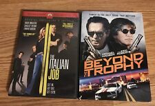 TWO DVD's Beyond the Trophy (DVD, 2014)  &  THE ITALIAN JOB DVD