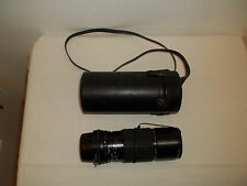 Sigma 100~200mm F/4.5 Zoom Multi-Coated Lens for Nikon #868963 With Caps & Case