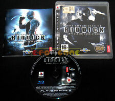 THE CHRONICLES OF RIDDICK ASSAULT ON DARK ATHENA Ps3 Vers Italiana ••• COMPLETO