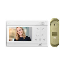 "MX 4.3"" TOUCHSCREEN VIDEO DOOR PHONE LCD MONITOR & BELL HOME & OFFICE- MX VDP-17"