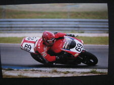 Photo Pacific Team Ducati 996 SPS 2002 #69 Thierry Mulot (FRA) WSB Assen