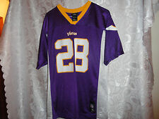 "YOUTH'S ""VIKINGS #28 PETERSON"" BASKET BALL JERSEY-SIZE XL 18/20"