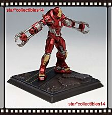 Iron Man 3 Dragon Models Battlefield Collection Mark 35 Suit 8cm Diorama *New*