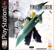 Final Fantasy VII (Sony PlayStation 1, 1997) - Japanese Version