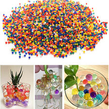 10000 X Colorful Water Bullet Balls Water Beads Mud Grow Magic Balls U67 HU