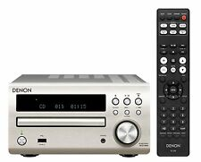 NEW!! DENON  RCD-M40SP CD Receiver FLAC / WAV / AAC Front USB Premium Silver