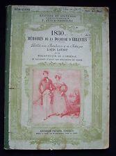 1830 Memoires de la Duchesse D´Abrantes, 1910