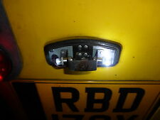 Land Rover Series 1 2 2a 3 Vintage Lucas Rear Number Plate Light LED Bulbs 467/2