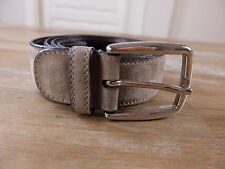 auth BARRETT Italy suede belt - Size 90 (fits size 34 waist best) - NWOT
