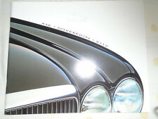 Jaguar XJ6 Sovereign XJ12 range brochure 1996