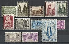 Belgium stamps 1933 OBP 363-374  MLH  VF