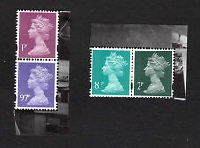 GB NEW MACHINS 2015 M14IL MPIL 1p, 2p, 81p Colour change error & 97p SEE BELOW