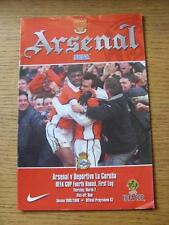 02/03/2000 Arsenal v Deportivo La Coruna [UEFA Cup] (No apparent faults).