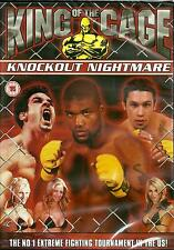 KING OF THE CAGE - KNOCKOUT NIGHTMARE - FIGHT - BRAND NEW DVD - FREE UK POST
