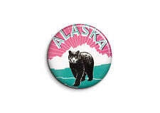 Vintage - Alaska 1 - Badge 25mm Button Pin