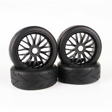 4X RC On-Road Tires Set Tyre Wheel Rim For 1:8 Car Buggy HPI  HSP Traxxas New