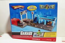 HOT WHEELS CITY SETS GARAGE PLAY SET NEW