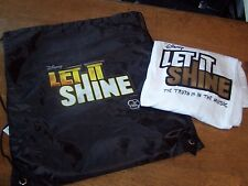 NEW Disney LET It Shine Movie T-shirt Size Medium  & Drawstring backpack
