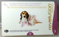 Revolution For Cats Kittens Puppies Dogs Up To 2.5 kg - 3 Pack Expiry 05/2018