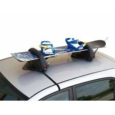 Menabo Branded Car Roof Mounted Magnetic Snowboards & Ski Rack Holder Carrier