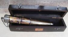 Brass SPYGLASS Nautical Canon Shape Telescope Navy Monocular Pirate marine Scope