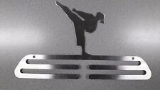 MARTIAL ARTS FEMALE Medal hanger/Display - Stainless Steel