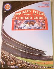 1985 Chicago Cubs Yearbook Sandberg Sutcliffe Smith