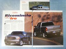 AUTO2001-RITAGLIO/CLIPPING/NEWS-2001- GMC SIERRA C3