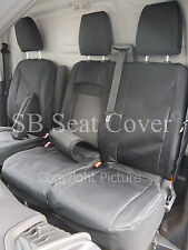 CITROEN RELAY VAN SEAT COVERS 2014 BLACK WATERPROOF MADE TO MEASURE