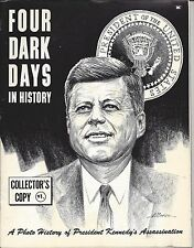 Four Dark Days In History Collector's Copy JFK Assassination publication