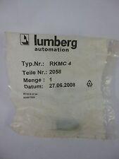 Lumberg RKMC4 Leitungskupplung Steckverbinder Neu OVP